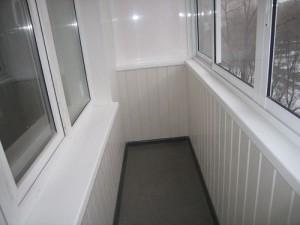 Внутренняя отделка балконов гипсокартоном
