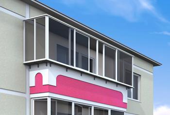 Раздвижной-балкон